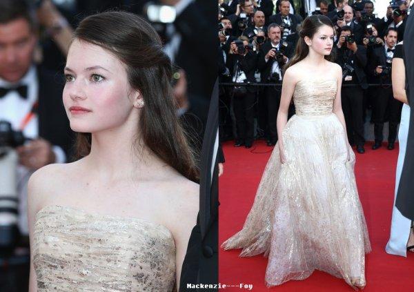 Mackenzie à Cannes !