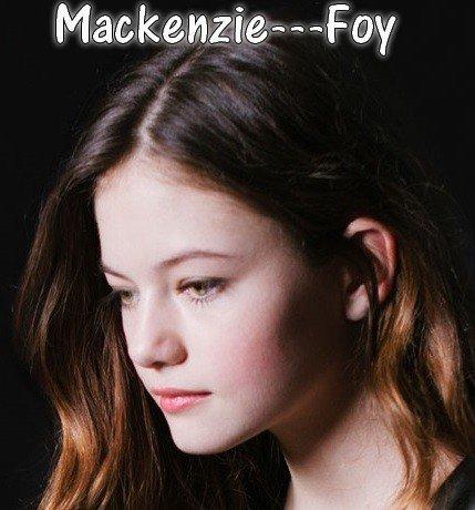 Mackenzie---Foy → Ta seule source fiable sur la charmante jeune actrice américaine :)