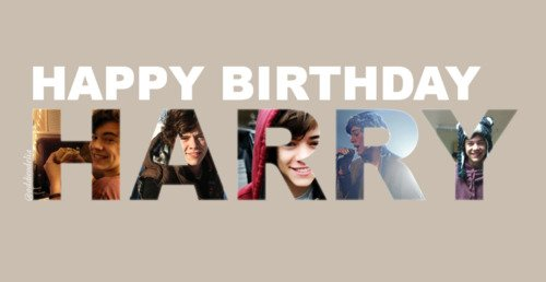 Happy Birthday Harry !!! <3