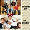 One direction vs backstreet boys ..
