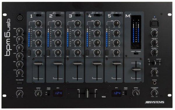 table de mixage bmp 6 usb jb systems