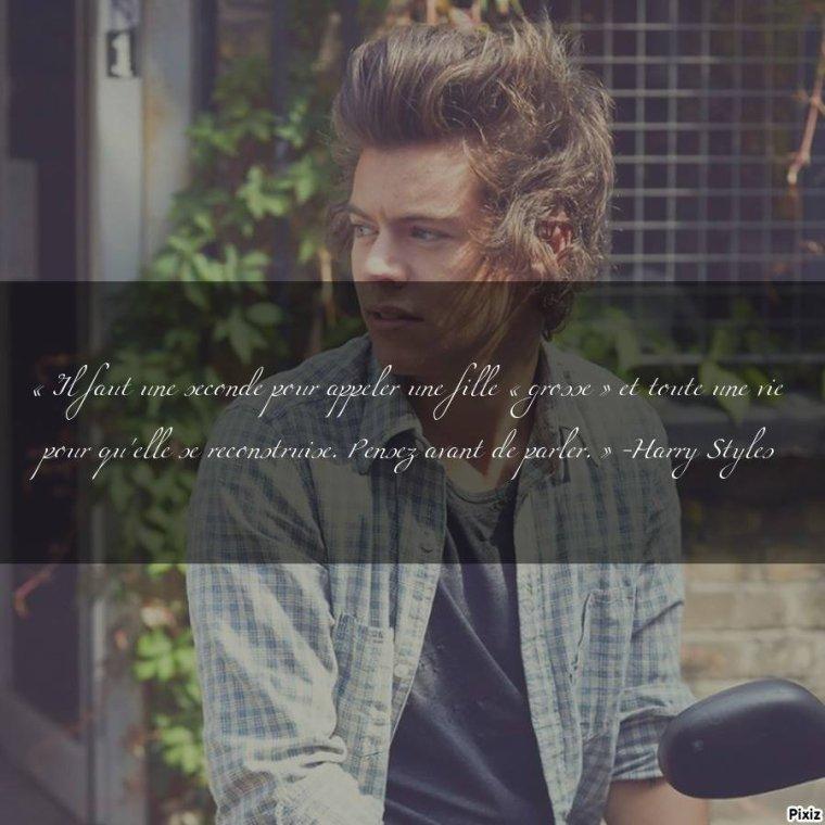 Citation d' Harry :