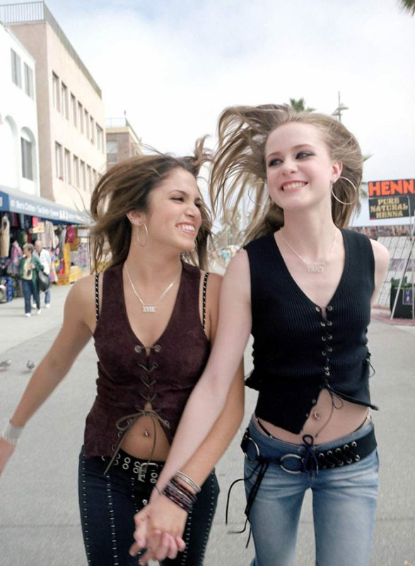 Evan Rachel Wood et Nikki Reed dans Thirteen