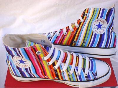 Converses multicolores I am swag ; )