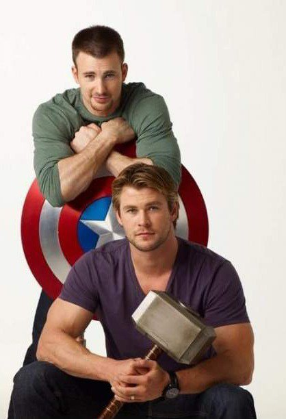 Capitaine america vs thor