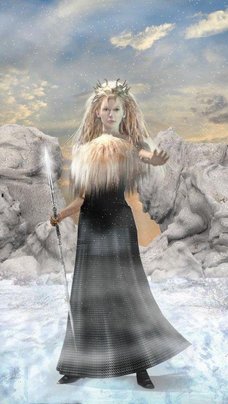 La sorcière blanche Limia