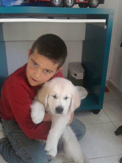 le chien de mon grand pere