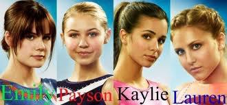 Kaylie Cruz ; Emilie Kmetko; Lauren Tanner; Payson Keeler;