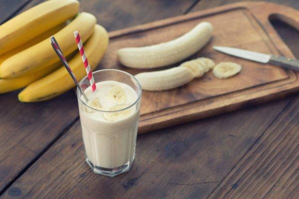 un smoothie banane-noix ! ?
