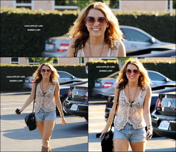. Ce 25 septembre Miley et Liam va voir sa nouvelle maison.