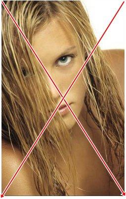 8: Cheveux gras.