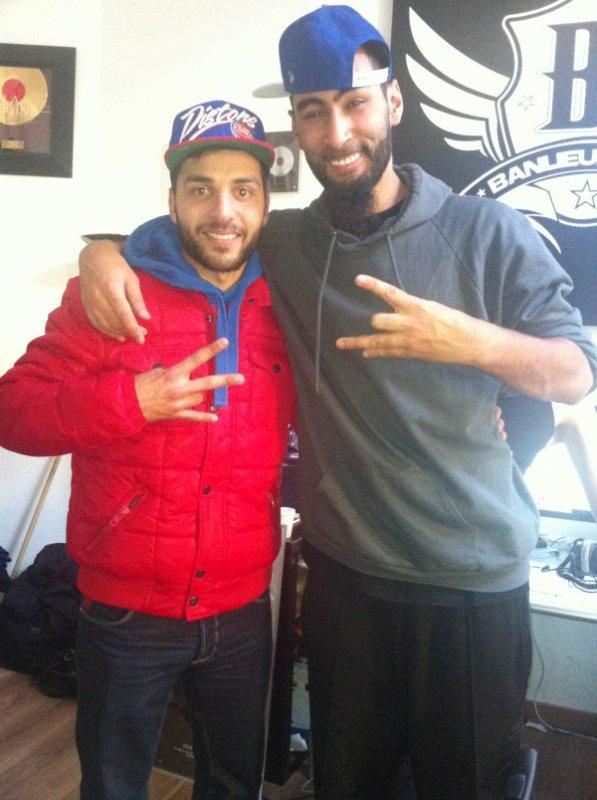 Avec Mon Frero Laouni Au Studio Banlieue Sale