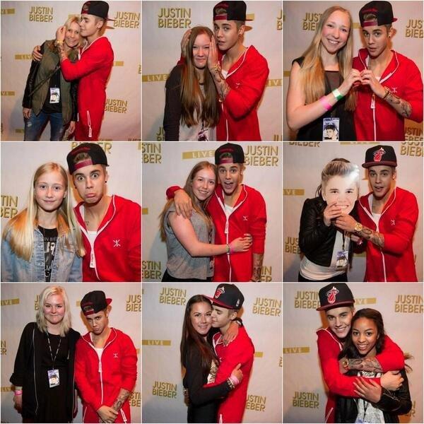 Justin toujours aussi sympa avec ses fans