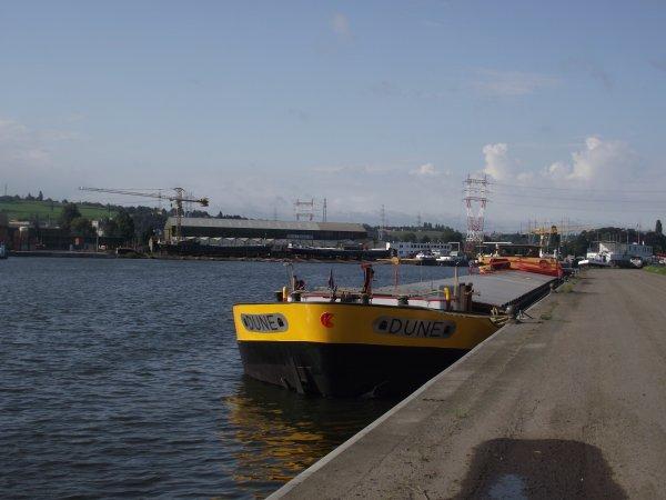 A Herstal sur la Meuse (aout 14)