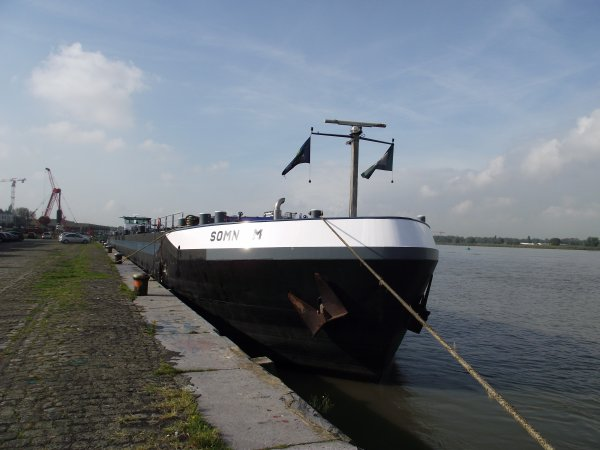 Navigation à Anvers