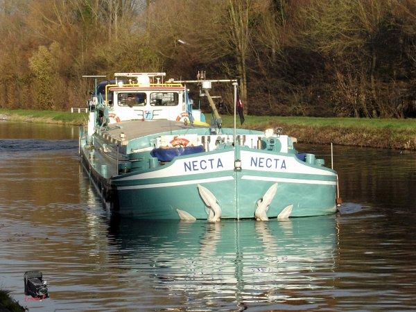 A la malterie de Herent, canal de Louvayn- Dyle