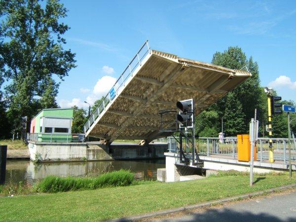 Pont du Vaartkom Louvain (suite)