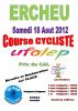 COURSE CYCLISTE DE ERCHEU SAMEDI 18 AOUT CLUB US HAM