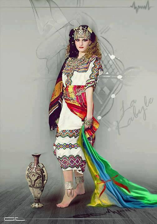 voila la femme Kabyle