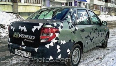 landa granta hybride pour 2012