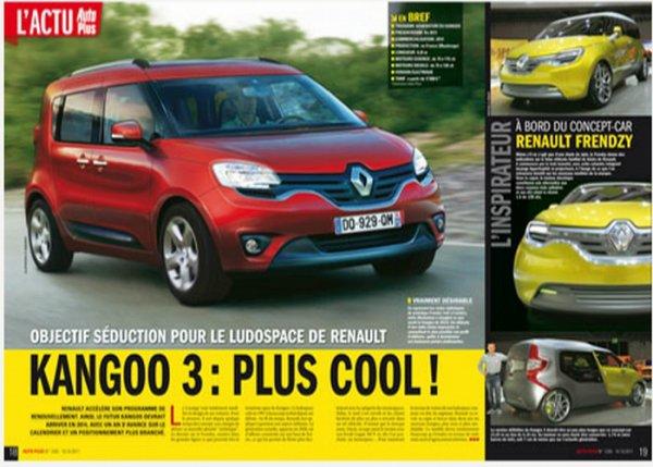 Bientot La Future Renault Kangoo Pour Fin 2012 Blog De