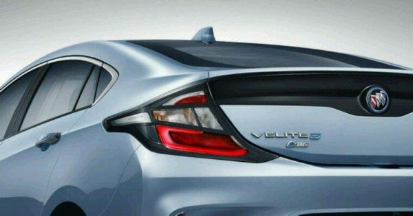 Buick velite c est la meme que la chevrolet volt