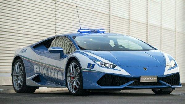 Lamborghini de la police italienne