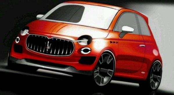 Maserati 500 pas mal l idee du projet