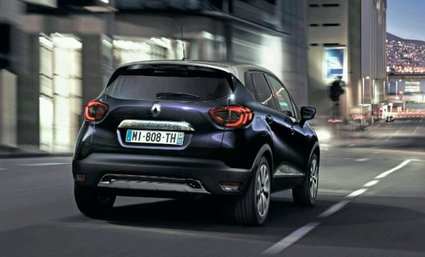 Lifting Renault captur