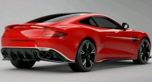 Aston martin red allow serie spéciale en rouge uniquement