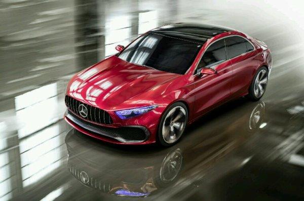 Mercedes classe a 4p concept