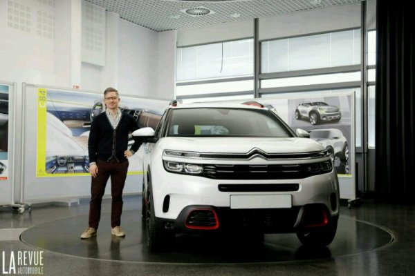Citroen c5 aircross devoilee