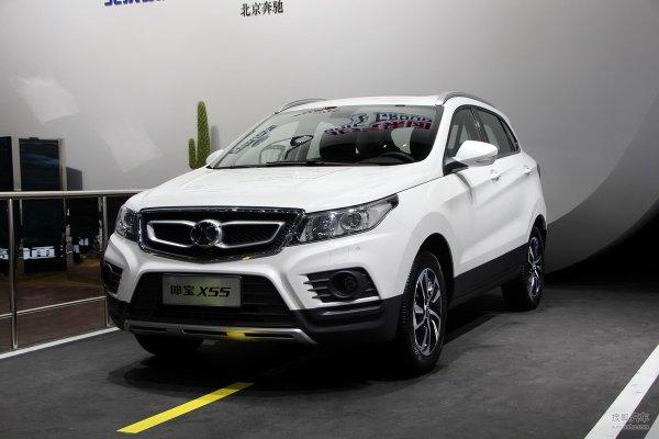 marque chinoise senova avec la x 55 nouveau modèle