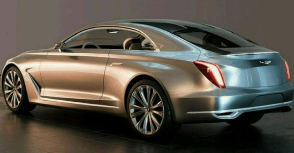 Genesis suv coupe concept