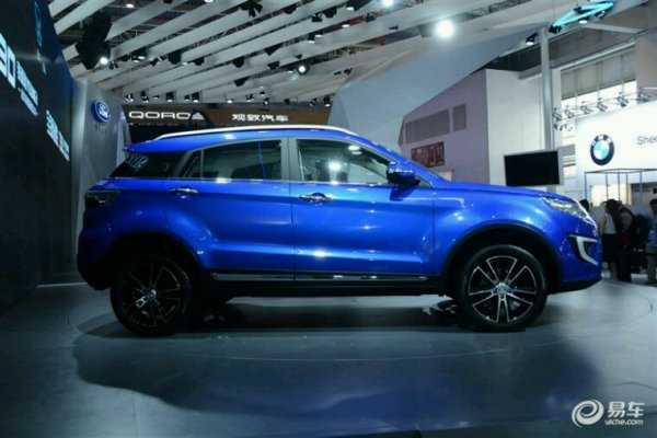 Byd song 7 suv pour la Chine