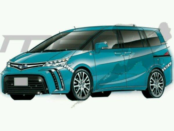 Toyota prius 4 mpv 2017