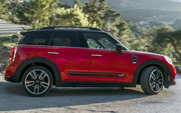 Nouvelle mini countryman jcw 2017