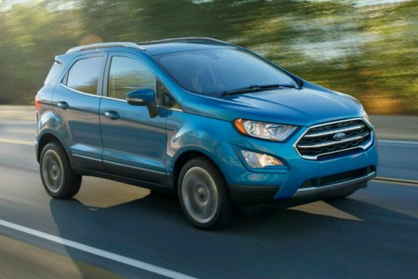 Lifting ford ecosport 2017