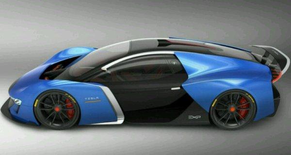 Tesla model exp concept
