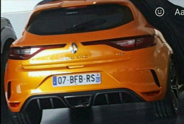 Renault megane 4_rs