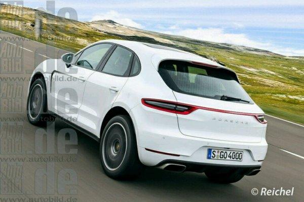 Porsche macan lifting 2017 deja en test prototype