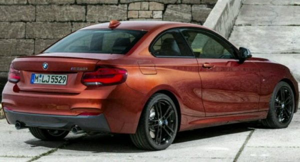 Bmw serie 2 lifting 2017