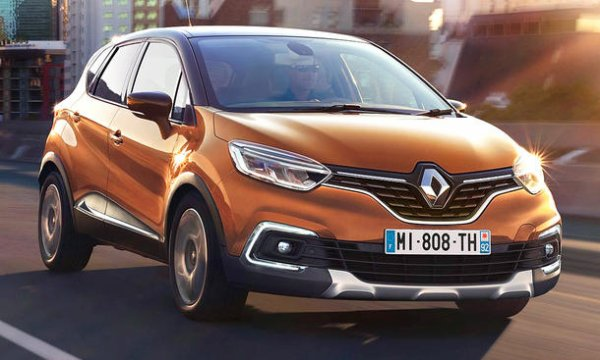 renault captur lifting