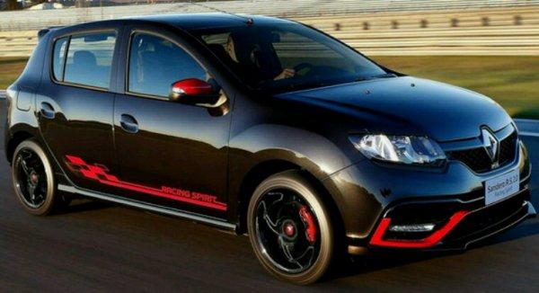 Renault sqndero rs pour le bresil pas pour l europe