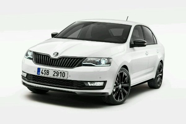 Skoda rapid lifting 2017