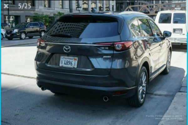 Mazda cx 8 pour le moment aux usa