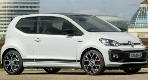 Vw up gti lifting 2017