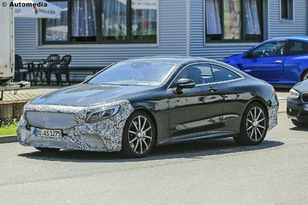 Mercedes classe s coupe lifting pour 2018