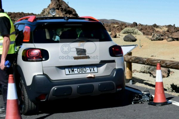 Future citroen c3 aircross sur base opel crosslandx