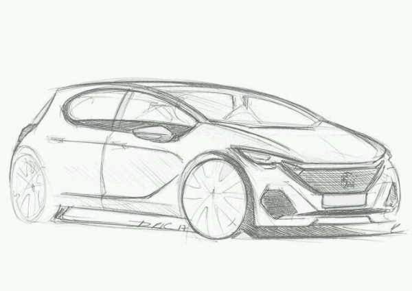 Future Peugeot 208